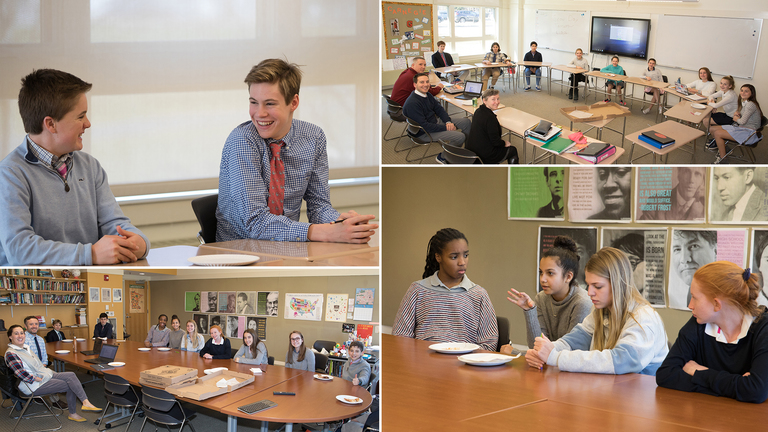 Students Engage in High School Design Process