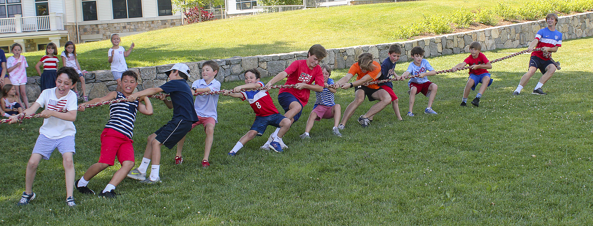games at GCDS Summer Camp
